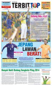 Cover Koran TERBITTOP Edisi Ke-17
