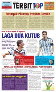 Cover Koran TERBITTOP Edisi Ke-19