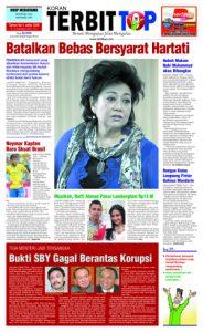 Cover Koran TERBITTOP Edisi Ke-23